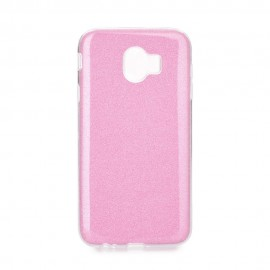 Etui Futerał Samsung Galaxy J4 2018 SHINING Pink