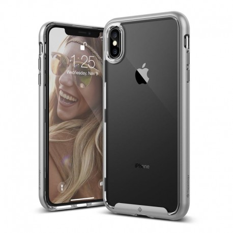 Etui Caseology iPhone Xs Max Skyfall Silver