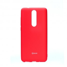 Etui Roar Colorful Jelly Case Nokia 5.1 Pink