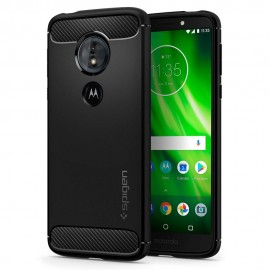 Etui Spigen Moto G6 Play / E5 Rugged Armor Black