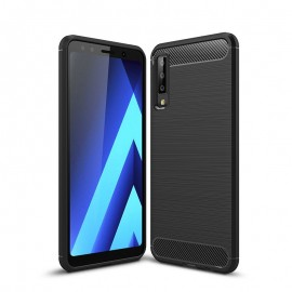 Etui CARBON Samsung Galaxy A7 2018 Czarny
