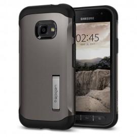 Etui Spigen Samsung Galaxy XCover 4 Slim Armor Gun Metal