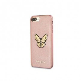 Etui Guess Iphone 7 / 8 Butterfly Saffiano Rose