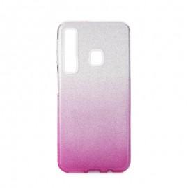 Etui SHINING Samsung Galaxy A9 2018 A920 Clear / Pink