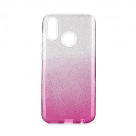 Etui SHINING Huawei P Smart 2019 Clear/Pink