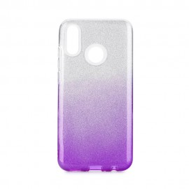 Etui SHINING Huawei P Smart 2019 Clear/Violet