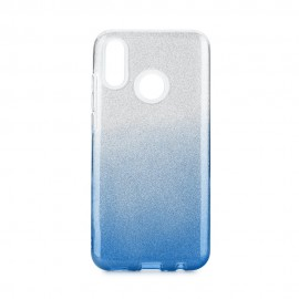 Etui SHINING Huawei P Smart 2019 Clear/Blue
