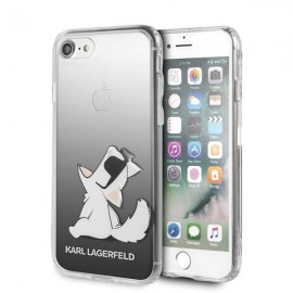 Etui Karl Lagerfeld iPhone 7 / 8 Choupette Fun Black