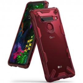 Etui Ringke LG G8 ThinQ Fusion-X Ruby Red