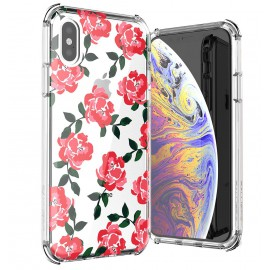 Etui Ballistic iPhone X / XS Jewel Mirage Roses