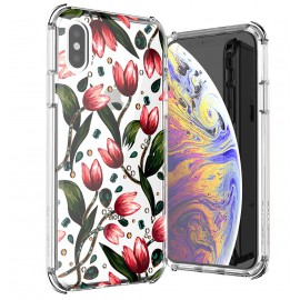 Etui Ballistic iPhone X / XS Jewel Mirage Tulips