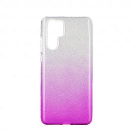 Etui SHINING Huawei P30 Pro Clear/Pink
