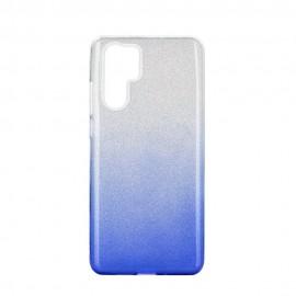 Etui SHINING Huawei P30 Pro Clear/Blue