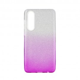 Etui SHINING Huawei P30 Clear/Pink
