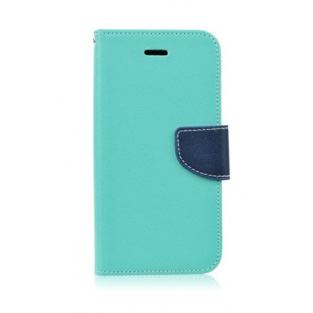 Etui Fancy Book Samsung Galaxy J3 2016 Mint / Dark Blue