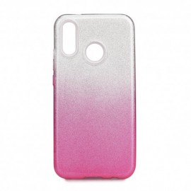 Etui SHINING Xiaomi Redmi Note 7 Clear/Pink