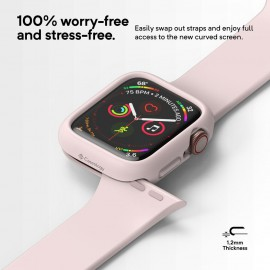 Etui Caseology Apple Watch 4 44mm Nero Pink