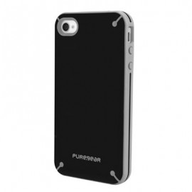 PureGear Slim Shell iPhone 4 4s Black Tea