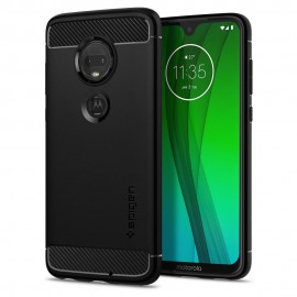 Etui Spigen Motorola Moto G7/G7 Plus Rugged Armor Black
