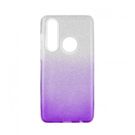 Etui SHINING Huawei P30 Lite Clear/Violet