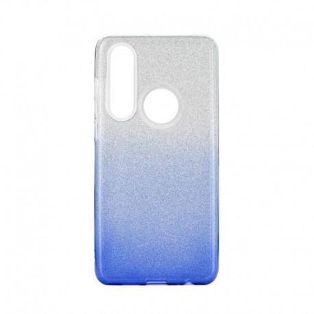 Etui SHINING Huawei P30 Lite Clear/Blue