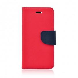 Etui Fancy Book Huawei Y7 2019 Red / Dark Blue