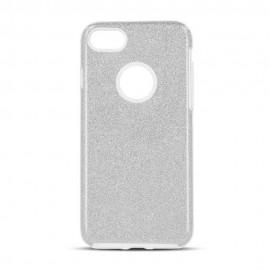 Etui SHINING Xiaomi Mi8 Lite Silver