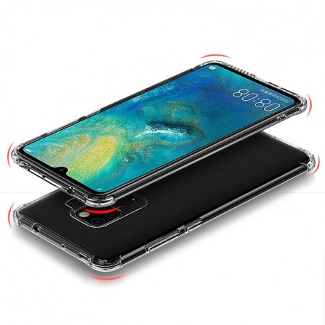 Etui MSVII Huawei Mate 20 Pro Airbag Case Clear