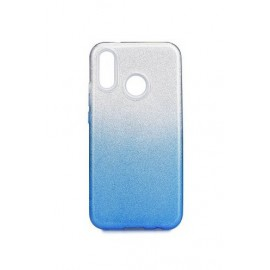 Etui SHINING Xiaomi Redmi 7 Clear/Blue