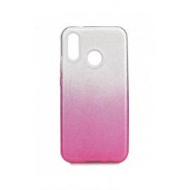 Etui SHINING Xiaomi Redmi 7 Clear/Pink