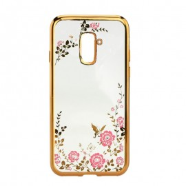Etui DIAMOND Samsung Galaxy A40 A405 Gold