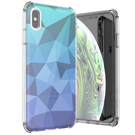 Etui Ballistic iPhone Xs Max Jewel Mirage Blue Gradient