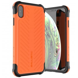 Etui Ballistic iPhone Xs Max Tough Jacket Orange