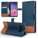 Etui Rearth Ringke Samsung Galaxy S10E S10 Lite G970 Wallet Navy / Brown