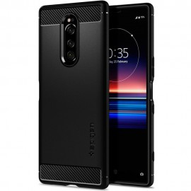 Etui Spigen Sony Xperia 1 Rugged Armor Black
