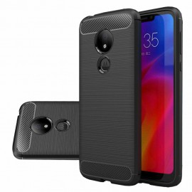 Etui CARBON Moto G7 Power Black