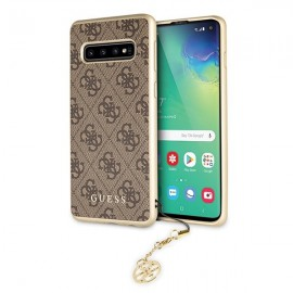 Etui Guess Samsung Galaxy S10+ G975 4G Charms Brown