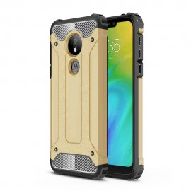 Etui Armor Moto G7 Power Gold