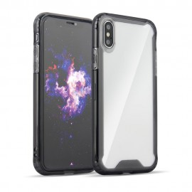 Etui Clear Armor Moto G7 Power Smoke Black