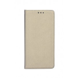 Etui Smart Book Motorola One Gold