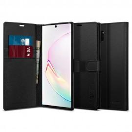 Etui Spigen Samsung Galaxy Note 10+ N975 Wallet S Black