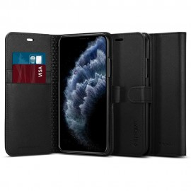 Etui Spigen iPhone 11 Pro Max Wallet S Black