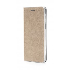 Etui Luna Book Huawei Y7 2019 Gold Silver