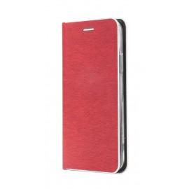 Etui Luna Book Huawei Y7 2019 Red Silver