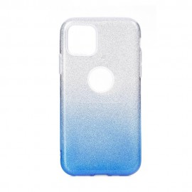 Etui SHINING iPhone 11 Pro Max Clear/Blue