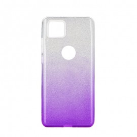 Etui SHINING iPhone 11 Pro Max Clear/Violet