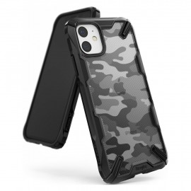 Etui Rearth Ringke iPhone 11 Fusion-X Camo Moro Black