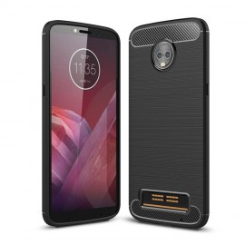 Etui CARBON Moto Z3 Play Black