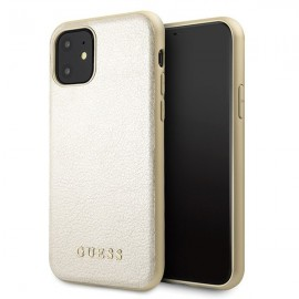 Etui Guess do iPhone 11 Iridescent Gold
