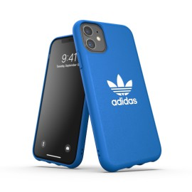 Etui Adidas do iPhone 11 Moulded Big Logo Blue